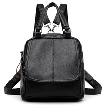 WomenS New Summer Multifunction Handbag Female Fashion PU Personality Retro Small Shoulder Messenger Bag