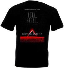 Total Recall Movie Poster Women'S Funny Tshirts Hip Hop Harajuku Tshirt Gym T Shirt 100% Cotton T-Shirts Womens Fashion Clothing