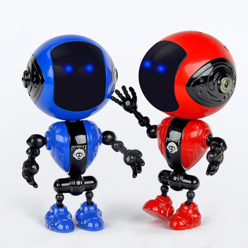 Touch Control DIY Gesture Mini Smart Voiced Recognition Record Singing Dancing Telling Story Mini RC Robot Toys for Birday Gift