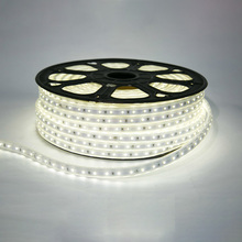 RGB LED Strip Light Waterproof SMD5630 AC220V LED Indoor Decorative Lamp 3M 5M White Flexible LED Strip Lighting Fixture