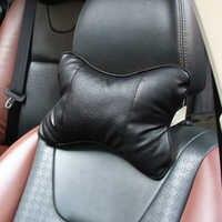 1 Uds almohadas de coche reposacabezas asiento reposacabezas accesorios para toyota chr corolla camry prius venza prado Rav4 Auris, Yaris aygo