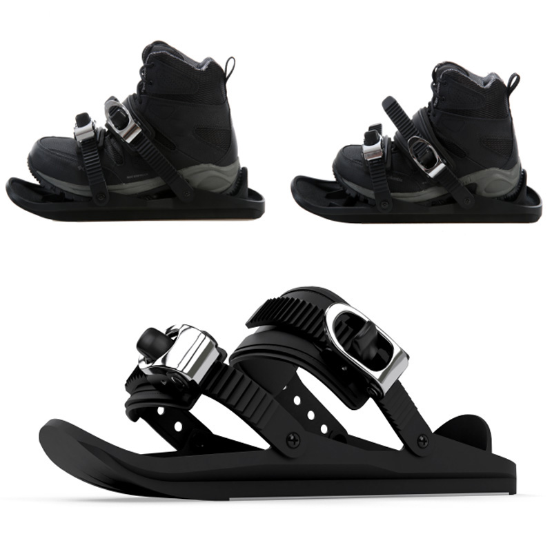 Snow Shoes Mini Ski Skates For Snow The Short Skiboard Snowblades