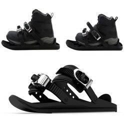 Snow Shoes Mini Ski Skates for Snow The Short Skiboard Snowblades