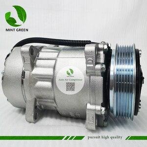 Image 3 - SANDEN 7V16  AC Compressor for PEUGEOT 306 406 for CITROEN XANTIA  6453FE 6453GA 6453L5 9613260680 9640486480 1106 1227 SD7V16