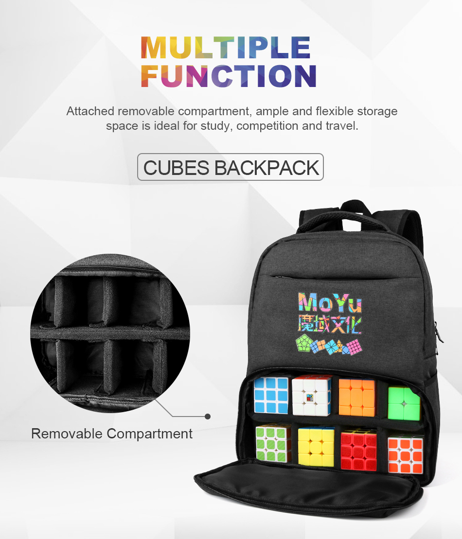 Moyu backpack for cube 3