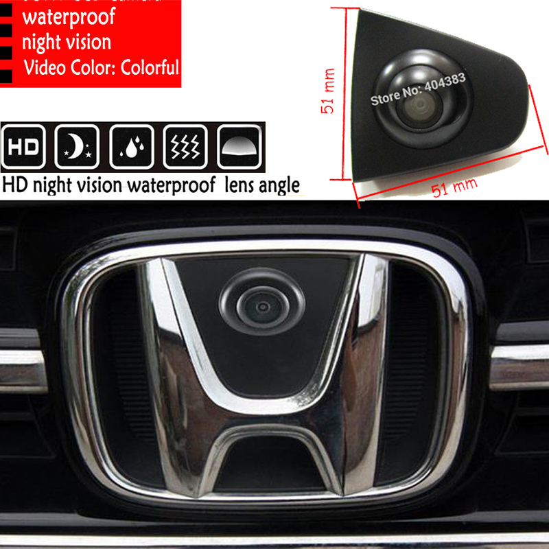SONY CCD Night Vision Car Rearview Camera Front View Reverse Backup For Honda Odyssey New Accord CRV Spirior Crosstour