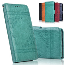 3D Flower Flip Leather Case for Meizu M8