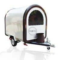 2020 preço de fábrica carrinhos de alimentos móveis/reboque/caminhão de sorvete/lanche comida carrinhos para a cor diferente com frete grátis pelo mar