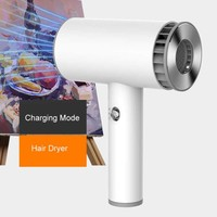 Portable Wireless USB Rechargeable Hair Dryer Smart Cordless 2 Mode Hair Drier Blower