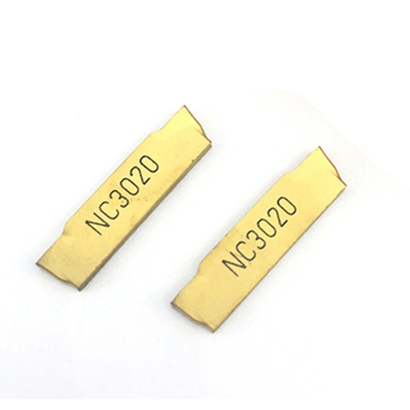 MGMN200 G NC3020 10PCS Grooving Carbide Inserts MGMN 200 Lathe Cutter Turning Tool Parting And Grooving Tools Parting Off