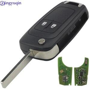 Image 4 - jingyuqin 10ps Remote Car Key for Chevrolet Malibu Cruze Aveo Spark Sail 2/3/4 Buttons 433/315MHz Control Alarm Fob