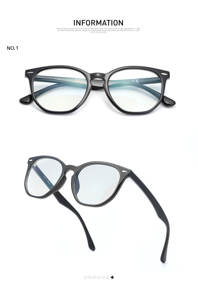 Occhiali da vista unisex anti-luce blu