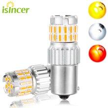 1Pc iSincer 1500LM P21W Canbus Led lampen 1156 1157 BA15S BAU15S LED T20 T25 Auto Blinker Licht Reserve lampen Auto Bremslicht