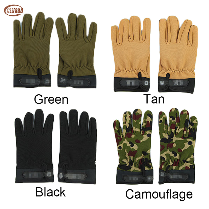Outdoor Tactical Gloves Antiskid Army Sports Airsoft Army Military Full Finger Gloves Camouflage Training Camping For Men Women