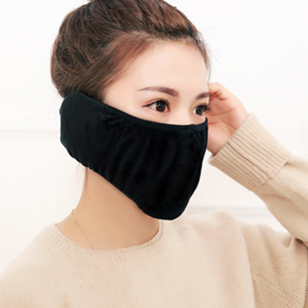 Warm Outdoor Sports Cycling Face Mask Riding Traveling Running Dustproof Mouth-muffle Anti Pollution Face Cover Reusable