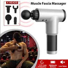 Massage Gun Muscle Massager Rechargeable Muscle Stimulator Deep Tissue Massager Body Relaxation Slimming Shaping