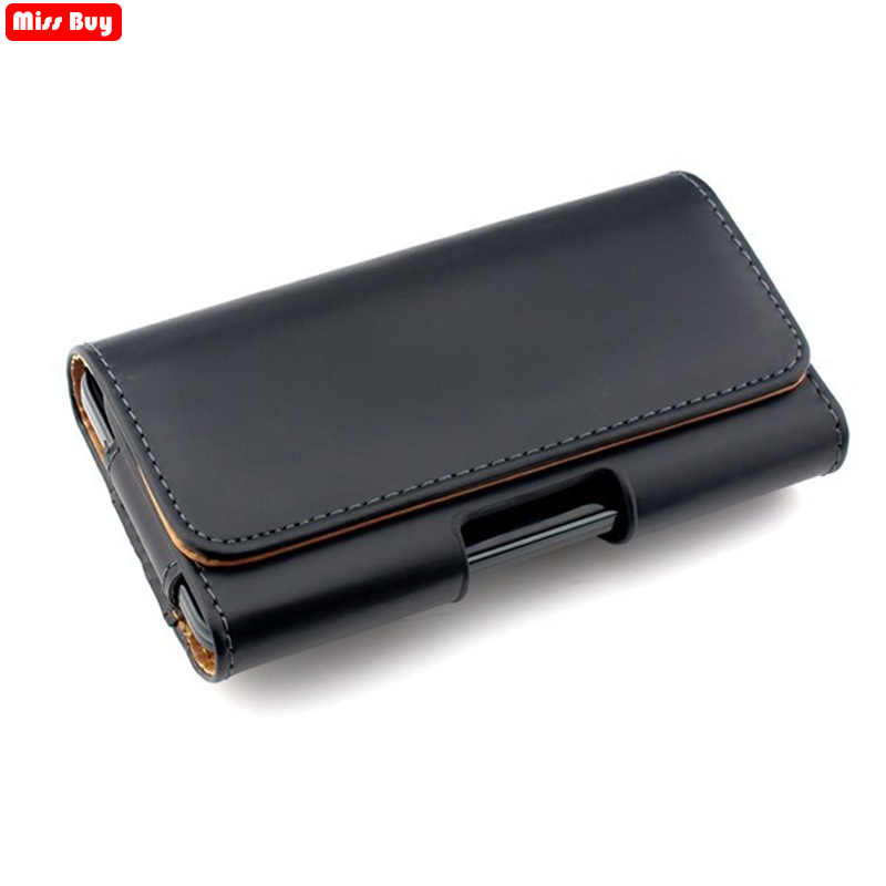 Missbuy Telefoon Pouch Voor iPhone 11 Pro Max X 10 8 7 6 6S Plus 5 5S SE 5C 4 4S Xr Xs Max Case Belt Clip Holster Leather Cover Tassen