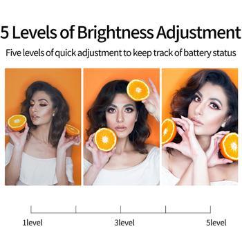 TELESIN Mini RGB LED Video Light 2000mAh Portable Pocket Photographic Lighting Vlog Fill Light Smartphone DSLR SLR Lamp 11