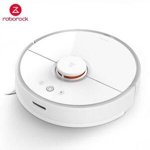 Image 1 - Roborock S50 S55 国際版ロボット掃除機自動クリーニング家庭用スマート計画アプリ制御スイープとモップ