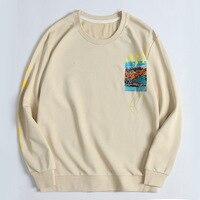 Sweater Men's Wear Tide Brand Round Neck Will Code Enlarge Jacket 2019 Man Sweater