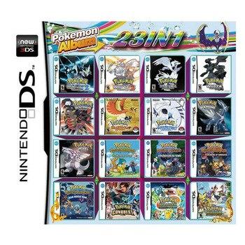 23 в 1, картридж для игровой консоли Pokemoon для Nintendo DS NDS Lite NDSI NDSLL NDSXL 3DS XL|Коллекционные игральные карты|   | АлиЭкспресс