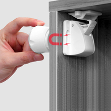 цена на Magnetic Child Lock 2-8 locks+1-2key Baby Safety Baby Protections Cabinet Door Lock Kids Drawer Locker Security Invisible Locks