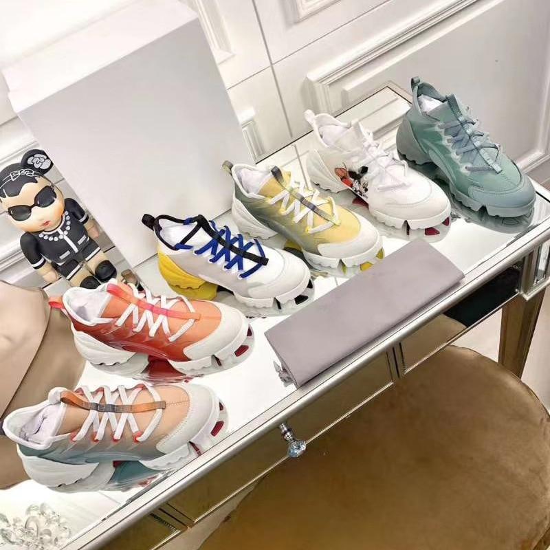 Dad Shoes Women's Celebrity Heightened Womens Shoes Women's Genuine Leather Shoes Shoes for Women Sneakers Platform Sneakers