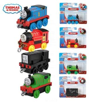 Thomas and Friends Trackmaster Original Train Model Car Birthday Present Boy Gift Kids Toys for Children Diecast Brinquedos эксклюзиные паровозики в асст thomas and friends