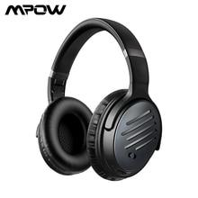 Mpow H16 ANC Bluetooth casque actif suppression du bruit casque sans fil avec chargement rapide 30H de lecture des basses profondes pour téléphone PC