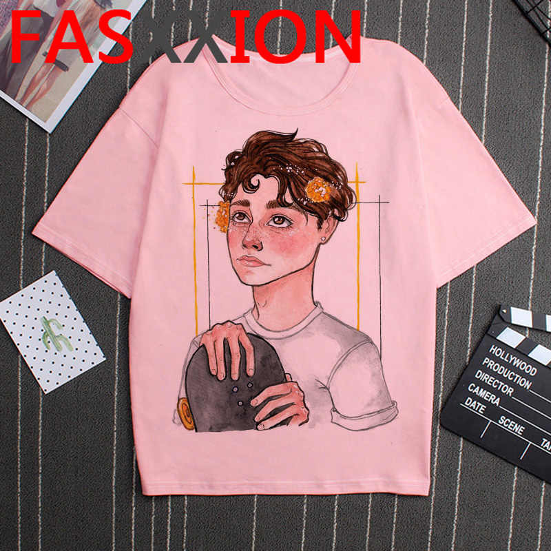 Payton Moormeier T Hemd Männer Harajuku Grunge Ästhetischen T-shirt Ulzzang Lustige Kawaii Print Street Hip Hop Graphic Tees Männlichen