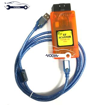 Skaner E F II pełna wersja do diagnostyki moduł keyprog moduł f-series korekta przebiegu e-series tanie i dobre opinie VODIA Analizator silnika 10inch E F Scanner Iso9001 Wifi Bluetooth plastic Newest Voltage 24V