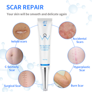 Image 3 - Scar Removal Safe Effective Medical Silicone Acne Scars Gel Flatten Repair Burn C Section Keloid Scars Treatment Face Body