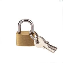 20mm Small Copper Lock with Keys Luggage Case Padlock Storage Lockers Padlock F1FC