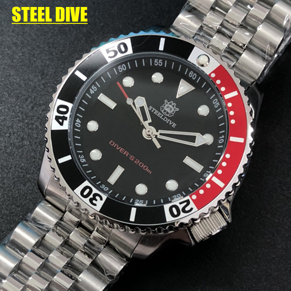 Diving Quartz Watch Men 200M Dive Swiming Sport Military Watch Mens Watches Top Brand Luxury Stainless Steel Driver Watches New