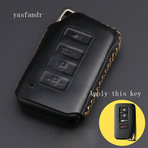 Image 4 - 4 Button Key Fob Cover Case For Lexus ES350 GS350 GS450h IS250 RC350 NX200T NX300h LX570 Car Remote Holder Protector