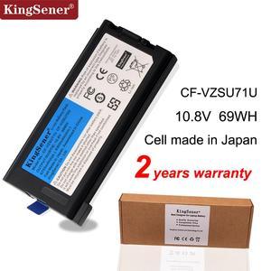 KingSener 10,8 V 6750mAh CF-VZSU71U CF-VZSU46U batería del ordenador portátil para Panasonic Toughbook CF-30 CF-31 CF-53 CF-VZSU46U CF-VZSU72U