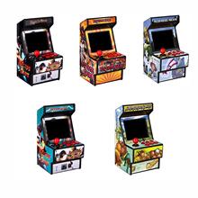 Mini gra arkade 156 klasyczne gry przenośne przenośne dla dzieci i dorosłych 2 8 #8222 kolorowy ekran chroniony przed oczami i akumulator tanie tanio NoEnName_Null CN (pochodzenie)