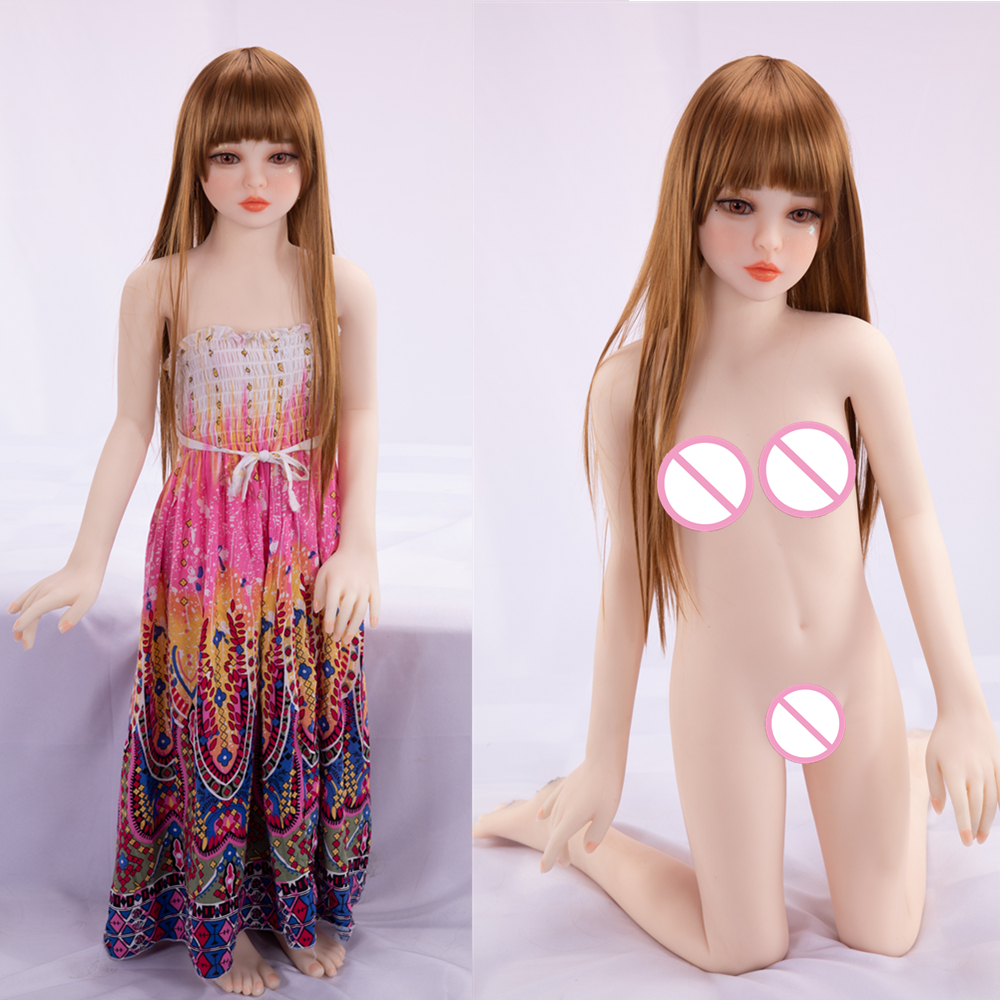 2020 EU USA Hot Sale <font><b>100cm</b></font> Mini <font><b>Sex</b></font> <font><b>Doll</b></font> Japan 18 Age Girl Young Oral Anal Vagina 3 Holes <font><b>Flat</b></font> Breasts A cup Soft TPE <font><b>Sex</b></font> <font><b>Doll</b></font> image