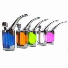 5 Colors Multifunction  Filter Purpose Water Smoking Pipes Smoke Grind