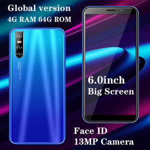 4GB RAM 64GB ROM F2 Pro Face unlocked Global Version 13MP 6.0inch Smartphone Android Full Screen Mobile Phone Cellphone Celulare