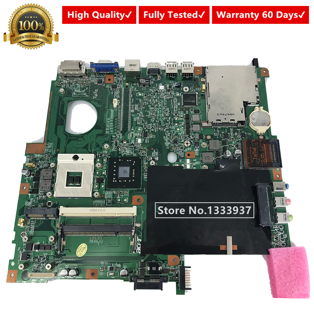 For Acer For extensa 5630 <font><b>5630g</b></font> 5230 5320 laptop motherboard 07245-1M 48.4Z401.01M DDR2 554CM01001 mainboard image