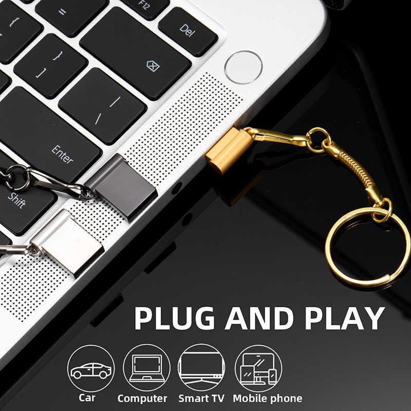 Disco Flash Portátil Làm Armazenamento Làm Pendrive Da Vara 128 GB Da Memória Da Movimentação Flash 64 GB 32 GB 16 GB 8 GB 4 GB