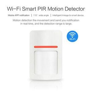Image 2 - Tuya Wifi Smart PIR Motion Detector Sensor Mobile APP notification Realtime Wireless Home Security