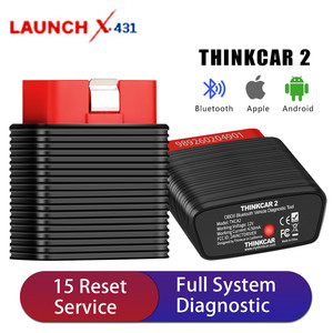 [USUKCZ Ship] Original Launch ThinkCar 2 Bluetooth Full System OBD2 Diagnostic Tool iOS Android Scanner PK Thinkdriver Thinkdiag