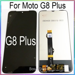 For Moto G8 Plus LCD Screen Display with Touch Digitizer Assembly