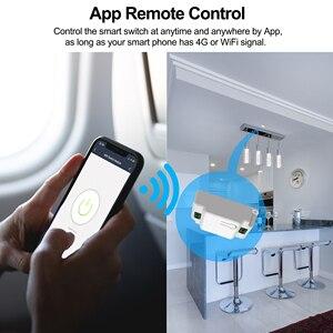 Image 4 - Smart WiFi Light SWITCH 433MHz RF Wall SWITCH Tuya/Smart Life APPไร้สายสมาร์ทDIY BreakerโมดูลWorks alexa Google Home