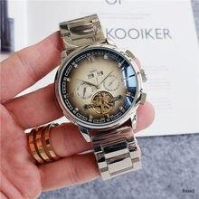 2021 new Patek mechanical men's and women's steel belt belt watch, casual fashion Philippe luxury brand watch