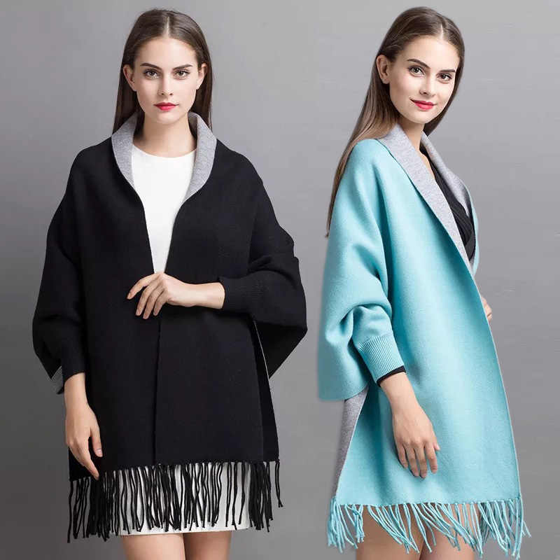 Cashmere wool cape,Wool wrap Evening shawls wraps Cashmere silk  sweater Summer cape Fuchsia pink cardigan Knit cape Knitted cardigan