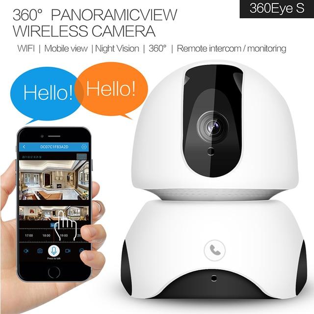 1080P  Wireless IP Kamara Pa Kas Ku Detekshon Di Movementu Pa Den Kas 2