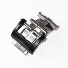 Высокое качество роскошные 20 мм нержавеющая сталь часы Пряжка для Montblanc часы кожаный ремешок Застежка Кнопка часы аксессуары